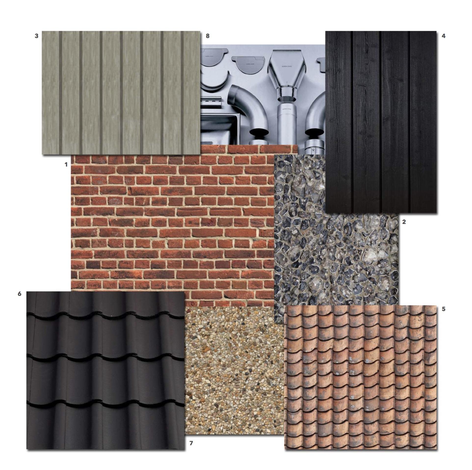 materials pallette