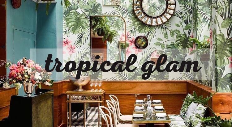 Eleva tu vibra tropical, con un poco de glamour.