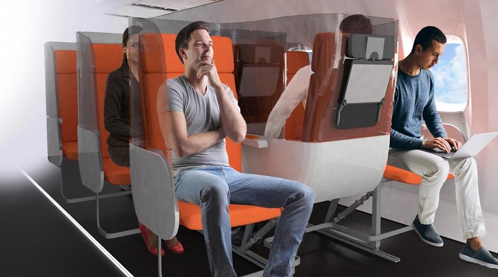 Diseño de aviones en sus interiores. Re pensando en la forma que vivimos luego de la Cuarentena, Pandemia y COVID-19