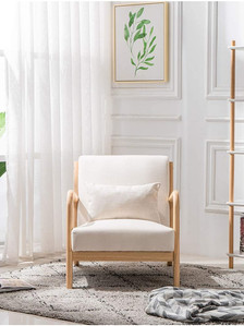 Chair for Living Room, Oak Single Chair,