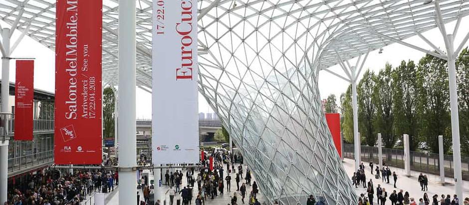 Feria del Diseño en Milano, Italia Salone del Mobile 2018.