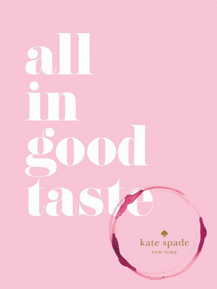 All in good taste
