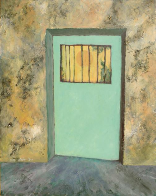 The Light, 1998, acrylic on canvas, 100x80 cm