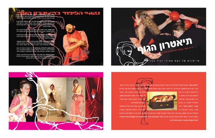 Printed Matter, Catalogue for Body Theater, Noam Meiri & Gil Becher