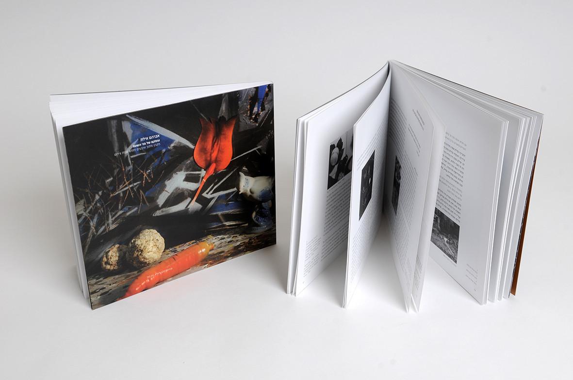 Catalogue Design, Avraham Eilat, Depth of the Surface, Janco-Dada Museum, Ein Hod, 2012
