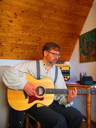Christof Härtl Musiker Gitarre