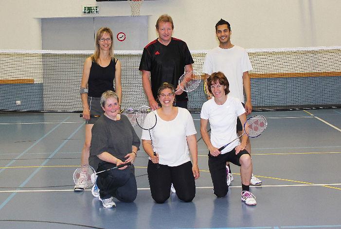 Le groupe badminton