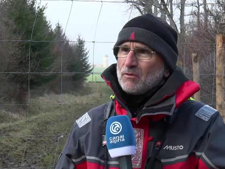 Canal alpha : L'invité: Alain Maibach, biologiste spécialiste du bison