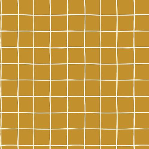 Tissu Soft Sweat GOTS Grid x10cm
