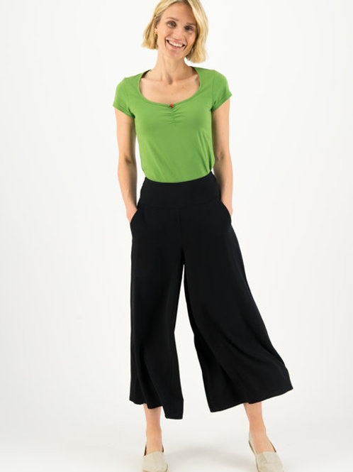 Pantalon In Fully Bloom - Black to Nineties