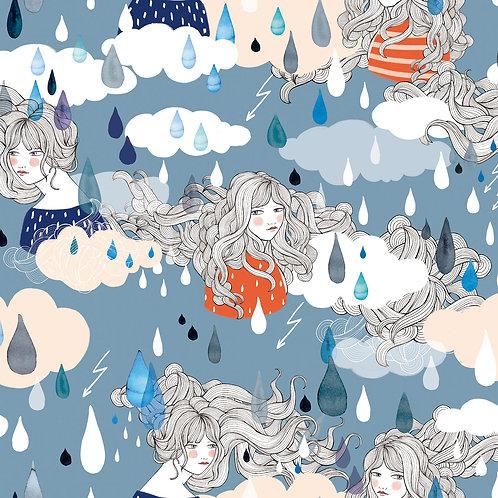 Tissu WATERPROOF Women's Rain  x10cm