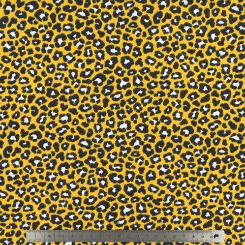 Tissu jersey - Stenzo imprmié léopard x10 cm