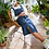 Thumbnail: White Stuff - Robe Farrow Pinafore Denim Dress