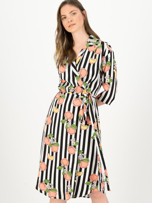 Robe portefeuille Lucky Lola - Pick the peach