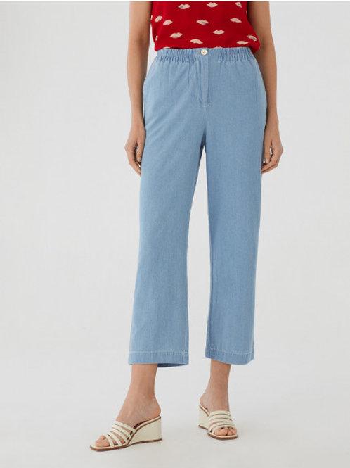 Pantalon large en jean