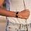 Thumbnail: NAHUA - Bracelet COLOMBE Black