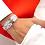 Thumbnail: NAHUA - Bracelet COLOMBE Silver