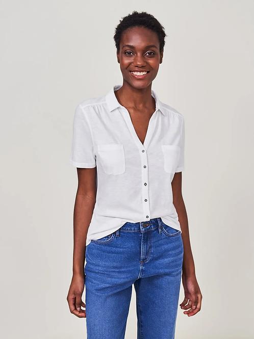 White Stuff - Chemise Jersey Penny Pocket
