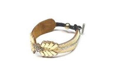 NAHUA - Bracelet COLOMBE Gold