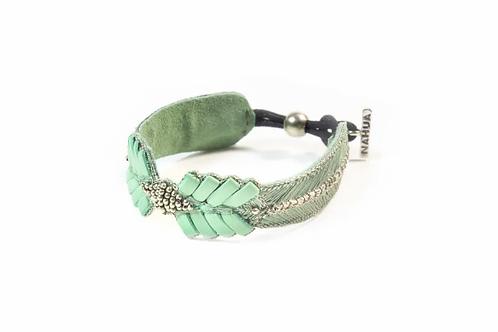 NAHUA - Bracelet COLOMBE Turquoise