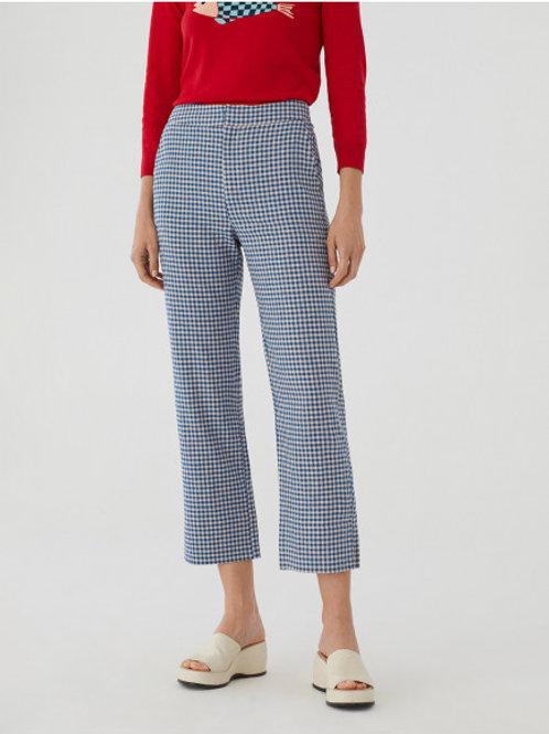 Pantalon Crop vichy