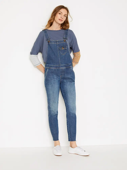 White Stuff - Salopette en jean slim Dungaree
