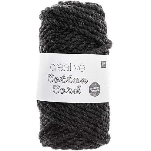 Creative cotton cord Noir