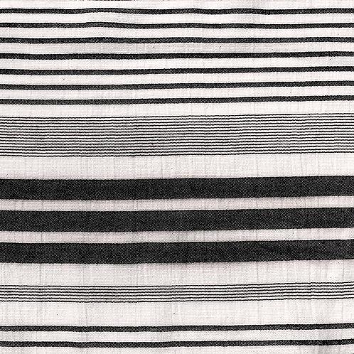 Tissu Panama Black  x10cm