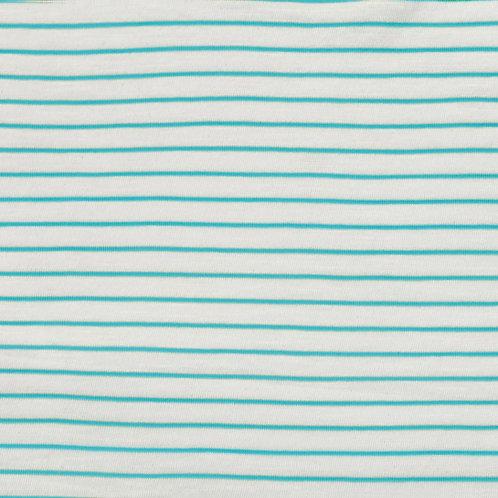 Tissu Sweat Towel Aqua  x10cm