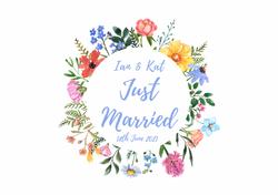 Ian & Kat Wedding Car. Land Rover Wedding Car.