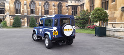 Land Rover Weddings at Lambeth Castle