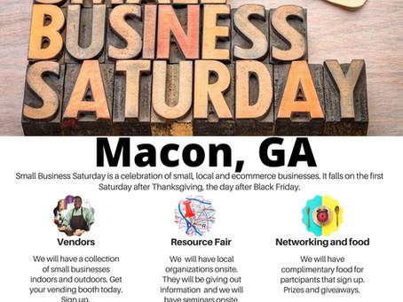 Small Business Saturday 28 Nov 2020