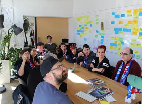 Team AM: Geschäftsausstattung und Visitenkarten