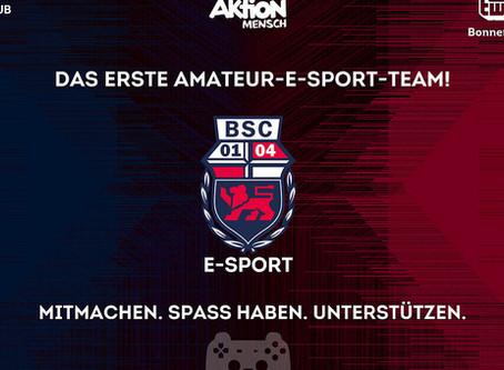 TEAM AM: Bonner SC zockt mit e-sport Team und spendet!