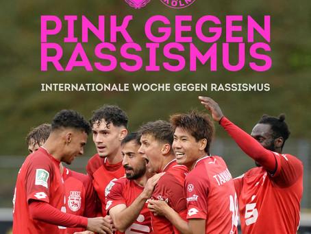 PINK gegen RASSISMUS!
