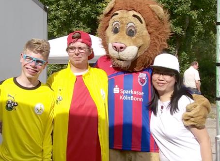 """Team AM: Moderation und Organisation beim Fußballfest von """"mitten im Leden""""!"""