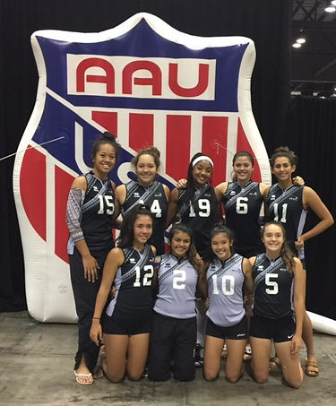 RVCH 18s at AAU Nationals 2017