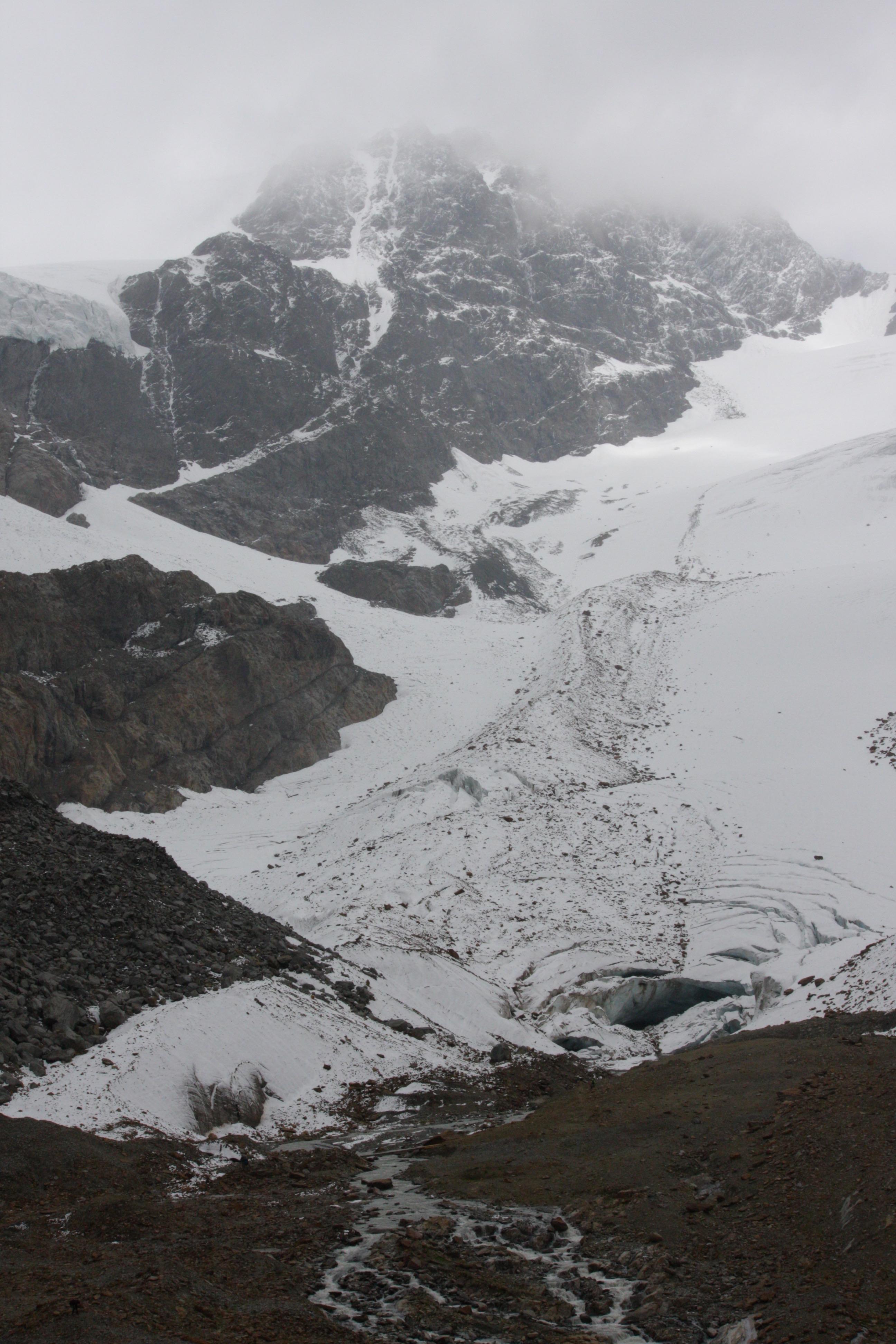 Glacier in Switserland