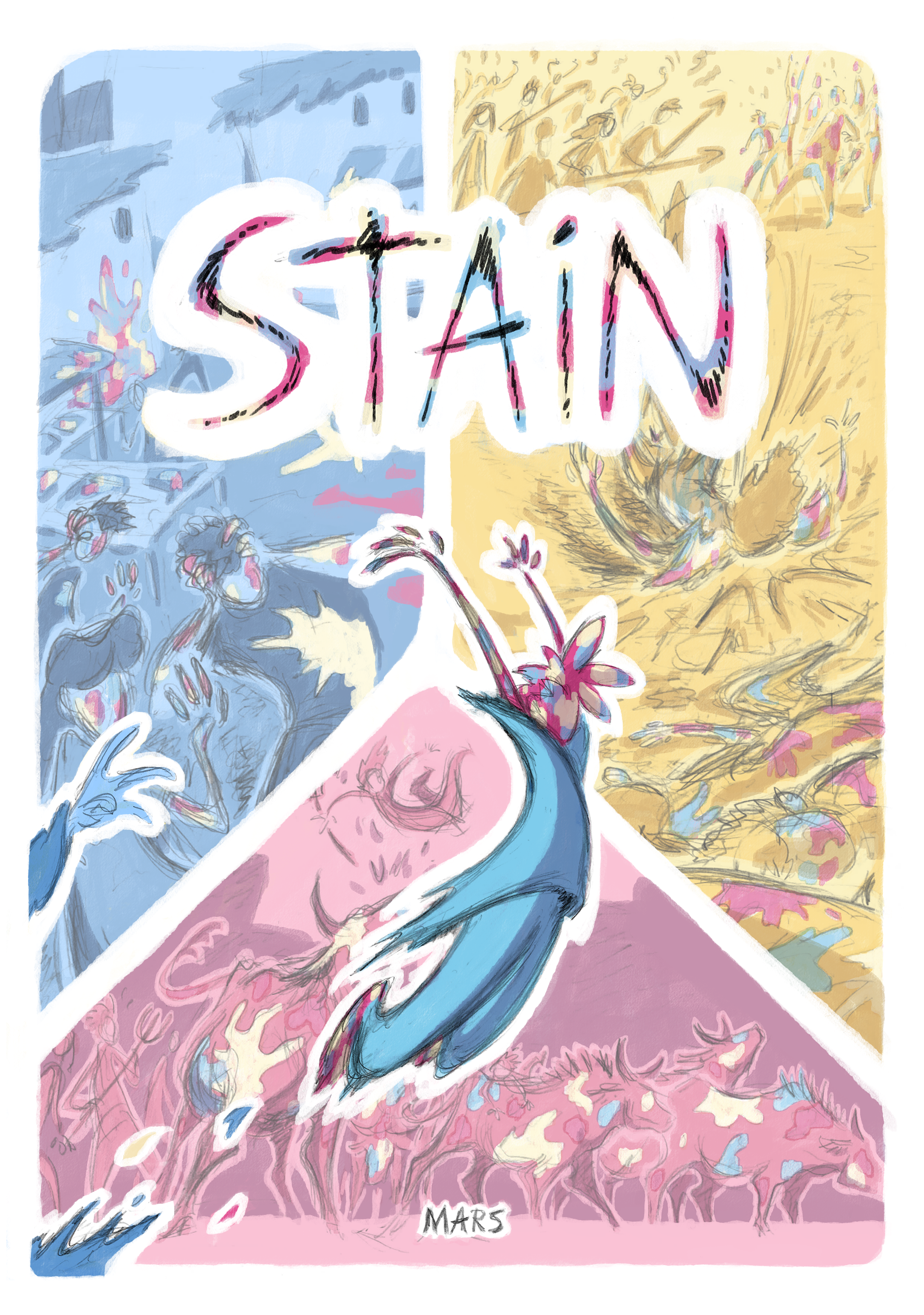 Cover for latest comic Stain