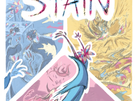 Latest comic 'STAIN' in stock!