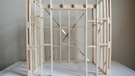 Project no.3: Timber Framing Model.