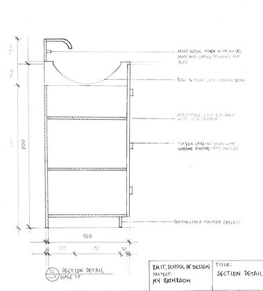 Project no. 4: Orthographic Drawings.