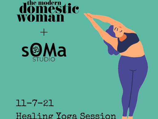 Let's yoga! Healing Yoga Session with sOMa Studio in Batavia, IL