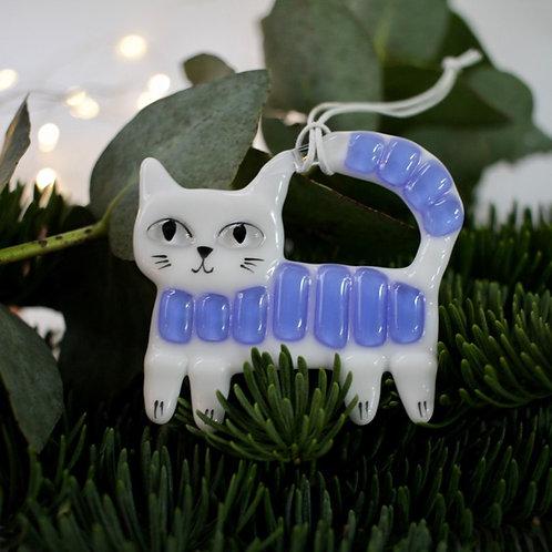 Новогодняя игрушка 'Котик'