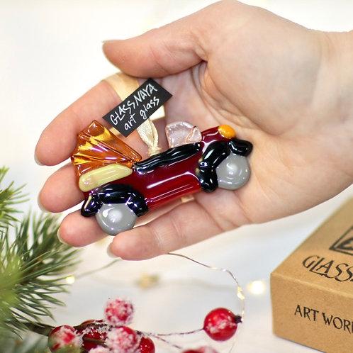 Новогодняя игрушка 'Кабриолет'