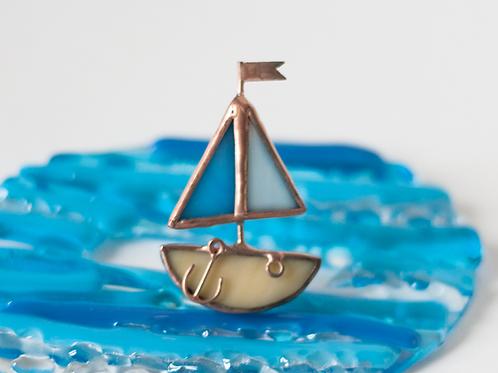Брошка 'Кораблик'