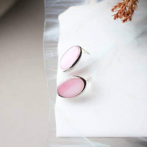 Серьги 'Конфетки' (розовые)