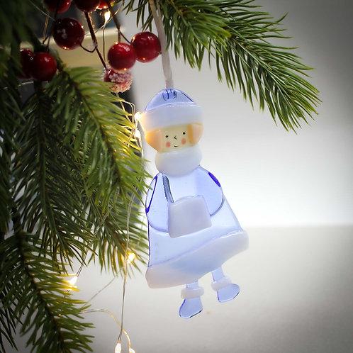 Новогодняя игрушка 'Снегурочка'