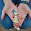 Thumbnail: Витражная подвеска 'Девочка с мороженым'