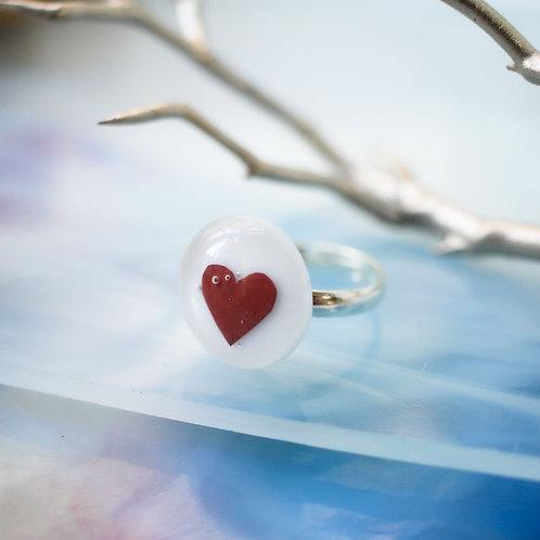 Колечко 'С сердцем'